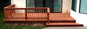 Decks are a specialty!